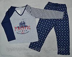 """Дитяча піжама для хлопчика """"Pasifik"""" (р. 104-152 см) (Sevim, Туреччина)"""