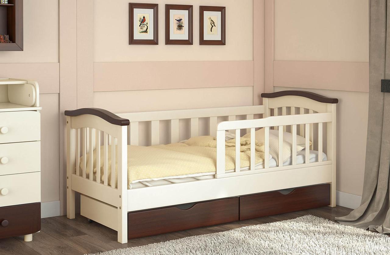 Детские кровати 2 года с бортиками