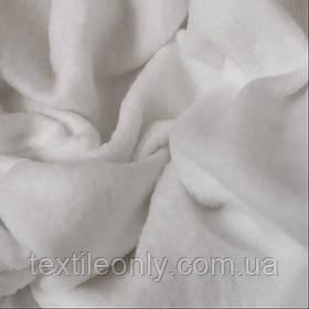 Ткань Флис цвет белый ширина 150 см