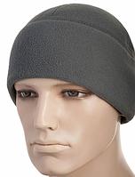 Зимняя шапка-подшлемник Slimtex из толстого флиса цвет серый 40004011