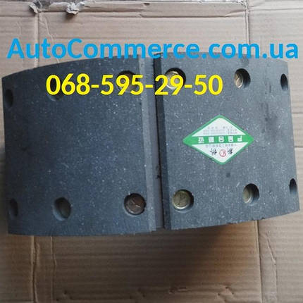 Колодка тормозная FAW 1051, ФАВ 1051, FAW 1061, ФАВ 1061 (H-130), фото 2