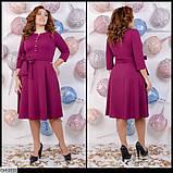 Стильное платье  (размеры 46-52) 0227-74, фото 2