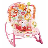 Fisher-Price кресло - качалка Infant To Toddler Rocker, Bunny, фото 1