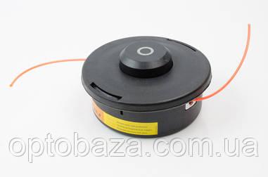 Катушка шпуля черная с кольцом 2,5 мм для мотокосы