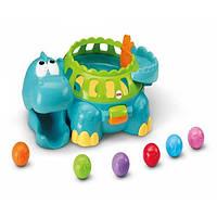 Динозавр Дино с шариками Fisher Price Go Baby Go Poppity Pop, фото 1
