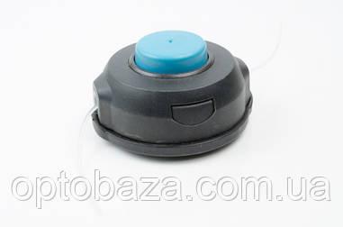 Катушка (шпуля) черная с синим для мотокос