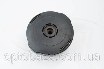 Катушка (шпуля) черная с синим для мотокос, фото 2