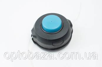 Катушка (шпуля) черная с синим для мотокос, фото 3