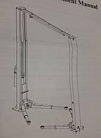ECO 1241 Подъёмник электогидравлический с верхней синхронизацией 4 тонны
