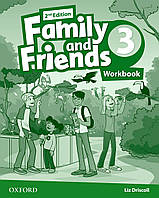 Рабочая тетрадь Family and Friends 2nd Edition 3 Workbook
