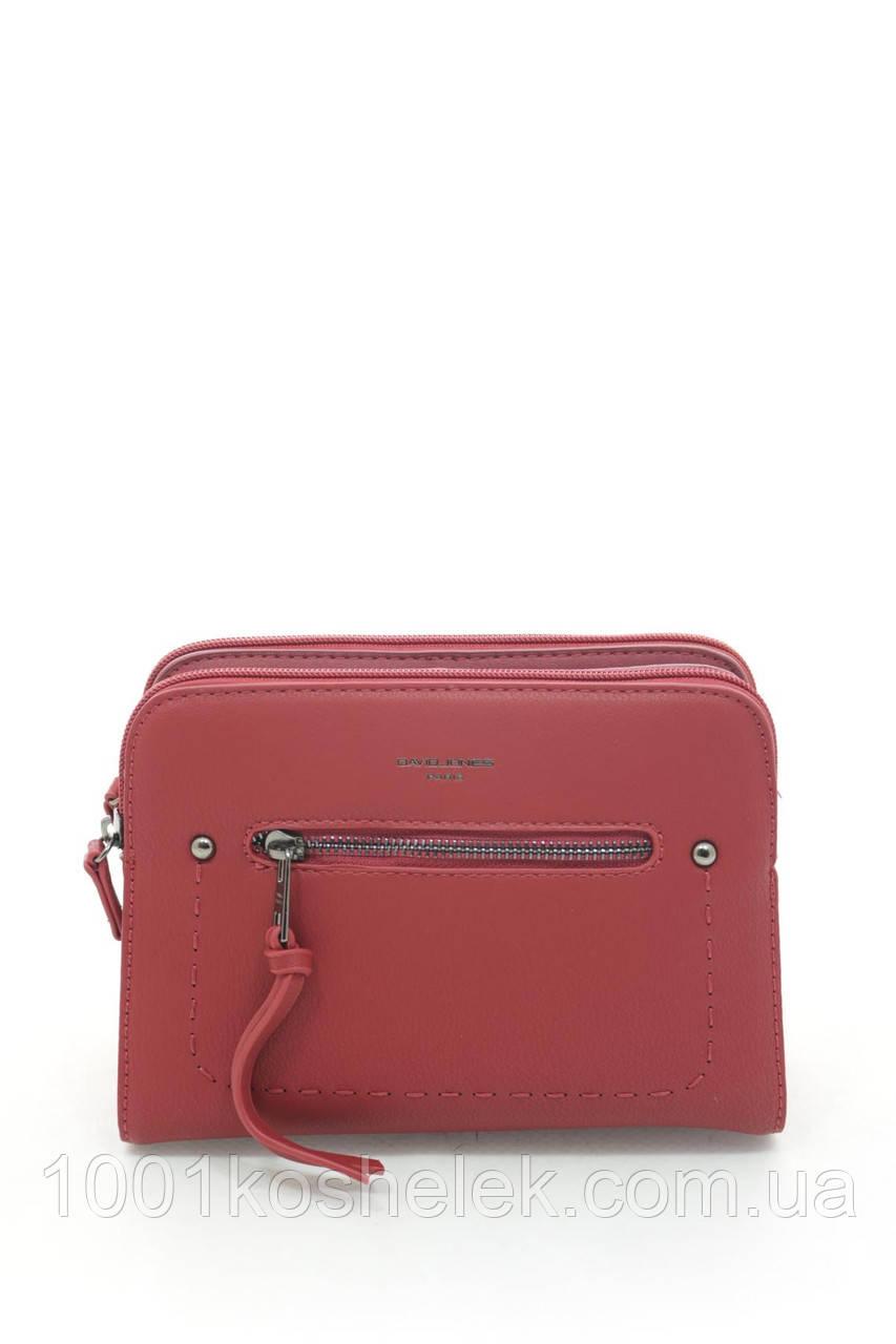 Клатч David Jones 5386 Red