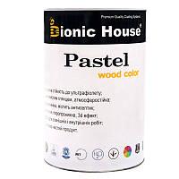 """Краска без запаха на водной основе bionic house """"Pastel"""" для дерева (0.8л)"""