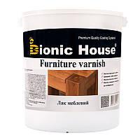 """Лак на водной основе Bionic house """"FURNITURE VARNISH"""" для мебели (ГЛЯНЕЦ) 10л"""