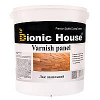 """Лак на водной основе для внутренних работ Bionic house """"VARNISH PANEL"""" (ПОЛУМАТ) 10л"""