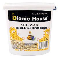 "Карнаубский масло-воск для дерева bionic house ""OIL WAX"" (3Л)"