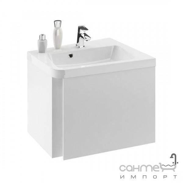 Мебель для ванных комнат и зеркала Ravak Подвесная тумба с дверцей Ravak 10 Degree 65 правосторонняя,