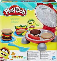 Ігровий набір Hasbro Play-Doh Бургер гриль (B5521)