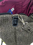 Сумка с вышивкой лентами РОМАШКИ, фото 5