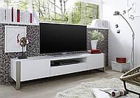 Тумба під телевізор RTV AMBER 2D1S лак білий мат 180 см