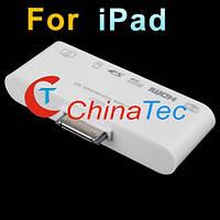 Картридер 6в1 USB SD MS HDMI TV для IPad 1/2, фото 1