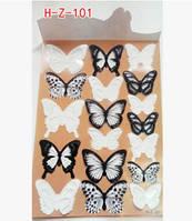 Набор декоративных бабочек 3D