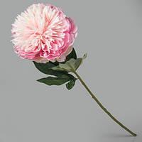 Искусственный розовый пион.