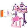 Синтезатор 88037 со стульчиком розовый, фото 3