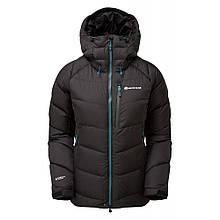 Куртка Montane Female Resolute Down Jacket Черный, XL, Женский, Зима, Туризм, Город, да, 800