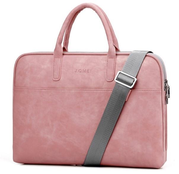 Сумка для ноутбука 13'' Digital J.QMEi pink