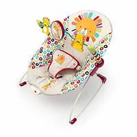 Вибро шезлонг  Bright Starts Playful Pinwheels Bouncer, фото 1