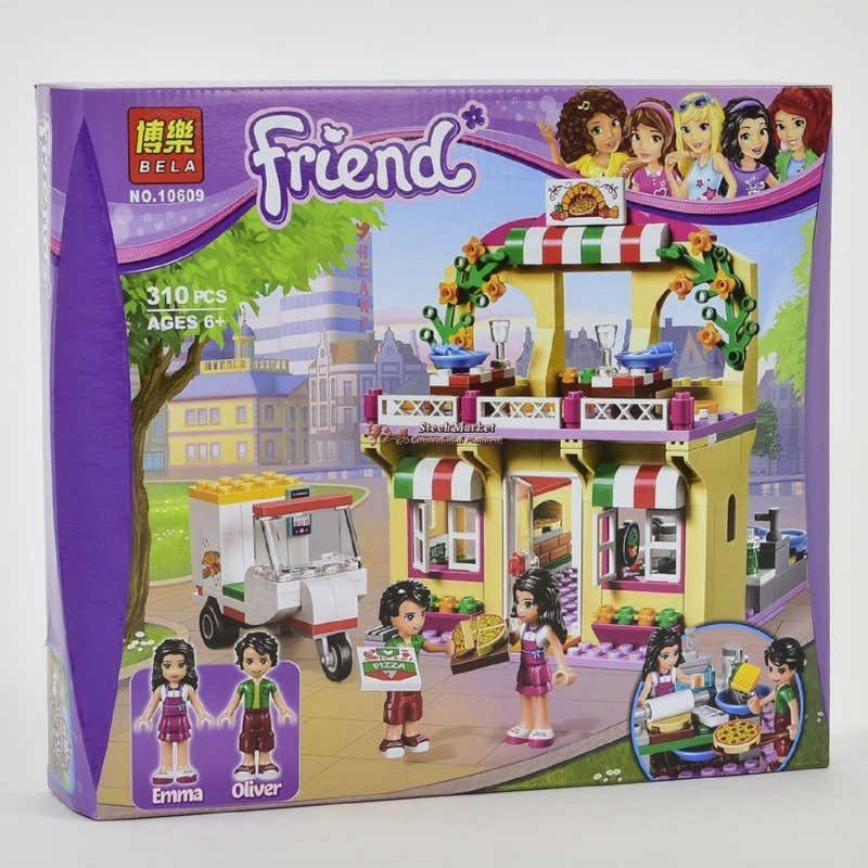 Конструктор Bela Friends 10609 Пиццерия (310 деталей)