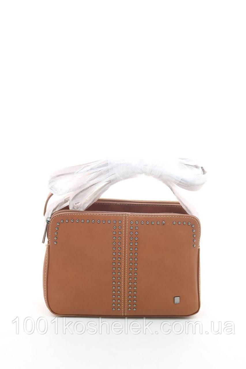 Клатч David Jones 5850-2 Cognac