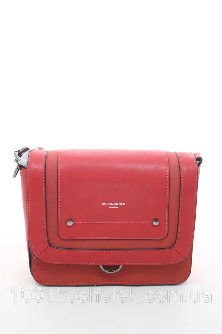 Клатч David Jones 5945-1 Red