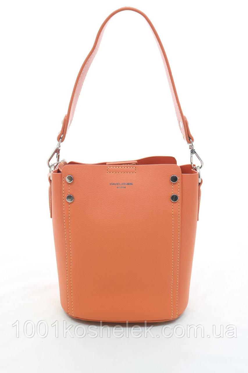 Клатч David Jones 5953-1 Orange