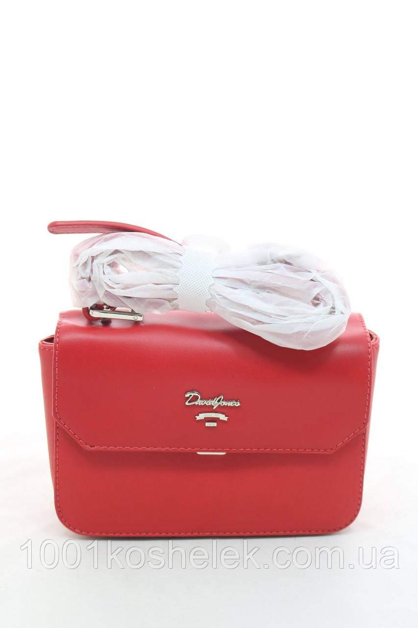 Клатч David Jones 5956-1 Red