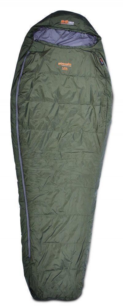 Спальный мешок Pinguin - Lite Mummy 195 BHB Micro Khaki Справа (R)