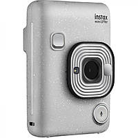 Фотокамера моментальной печати Fujifilm Instax Mini LiPlay Stone White (16631758), фото 1