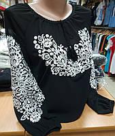 """Вишита блуза """"Квіти ночі"""""""