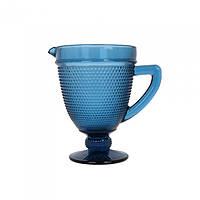 Графин стекло Orleans синий - 223168