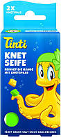 Набір мила для творчості Tinti зелений з жовтим (11000508)