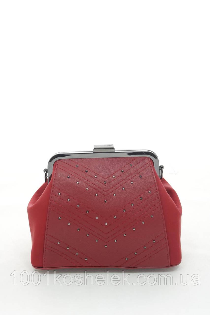 Клатч David Jones 6144-1 Red