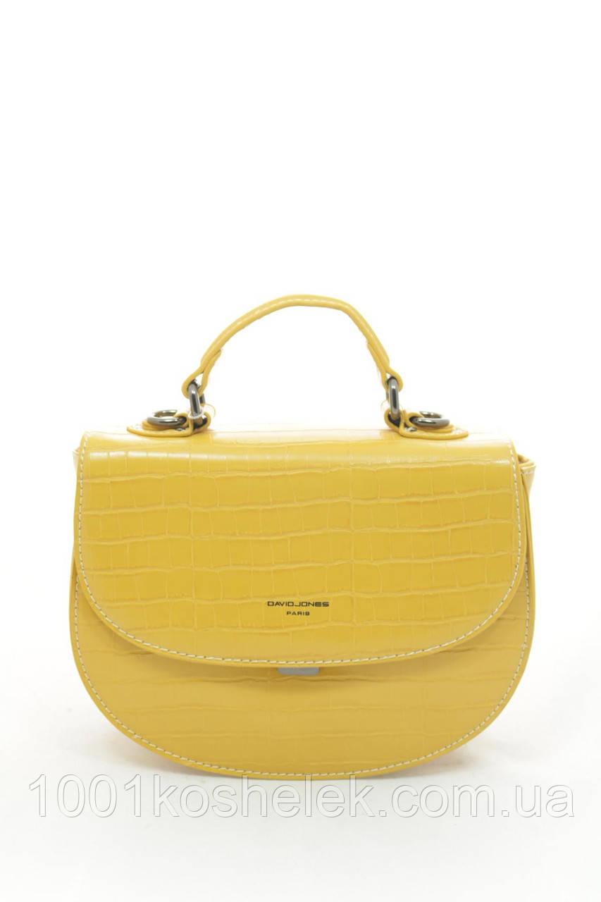 Клатч David Jones 6145-1 Mustard