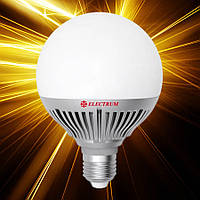 Светодиодная лампа ELECTRUM D95 12W E27 2700 AL LG-30