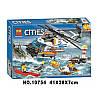 """Конструктор """"Сверхмощный спасательный вертолет"""" Bela Cities 10754 439 деталей, фото 7"""