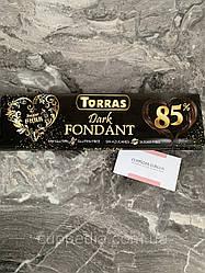 Шоколад Torras Dark fondant 85 % без глютена и без сахара 300 грм