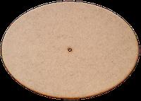 Основа для часов из МДФ № 6 Овал 35 x 25 см AS-6506, М-2006