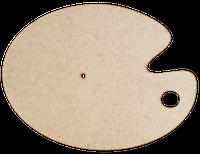 Основа для часов из МДФ № 11 Палитра 41,5 x 30 см AS-6511, М-2011