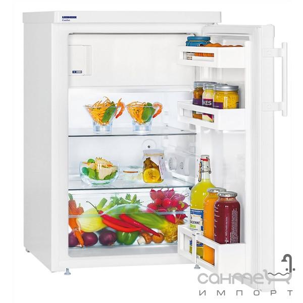 Холодильники и морозильные камеры Liebherr Малогабаритный холодильник с верхней морозильной камерой Liebherr T