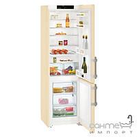 Холодильники и морозильные камеры Liebherr Двухкамерный холодильник с нижней морозилкой Liebherr CUbe 4015 Comfort (A++) бежевый