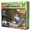 Конструктор Майнкрафт Lele 79159 My World 4 вида 8шт в коробке, фото 2